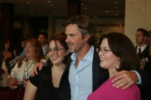 """True Blood"" star Sam Trammell meets fans during the VIP Reception at the Cultural Center."