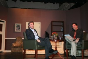 "David Wohl talks with Sam during ""Inside the Main Street Studio."""