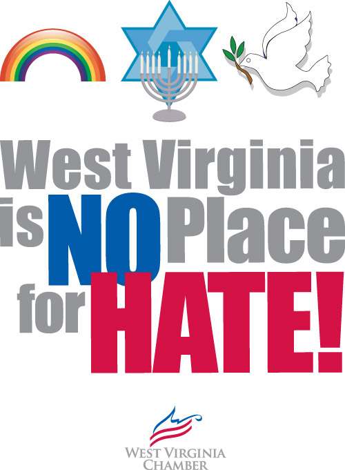 WV Chamber No Hate Poster