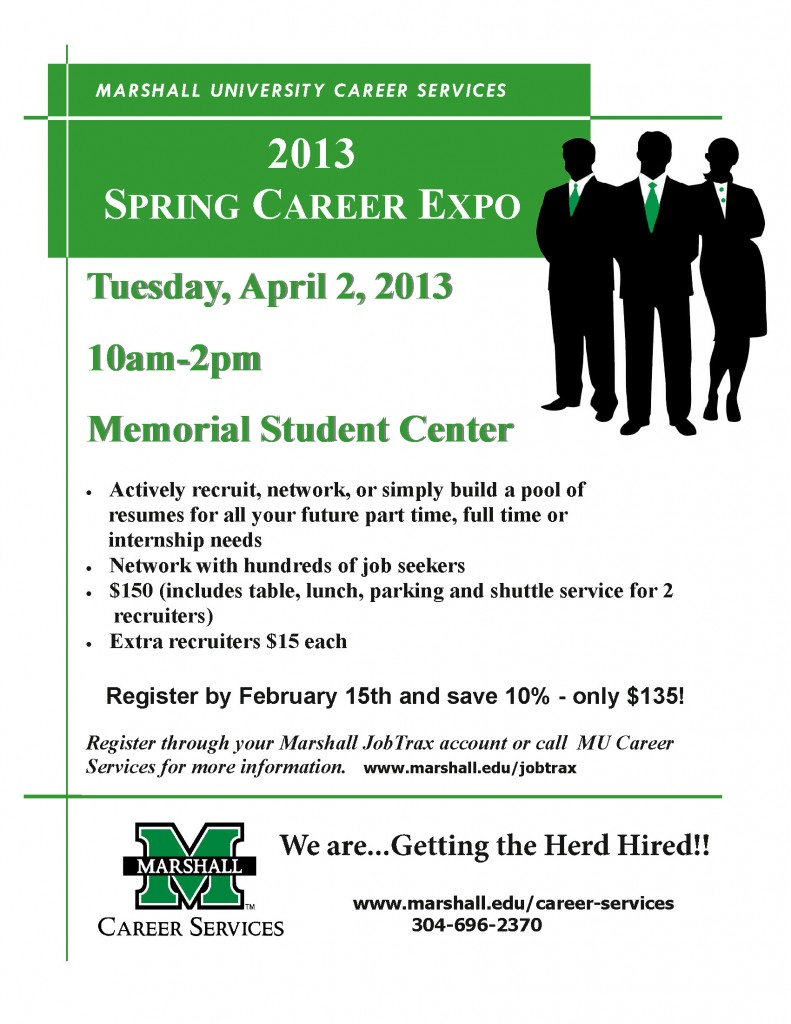 2013 Spring Career Expo - Employer ad