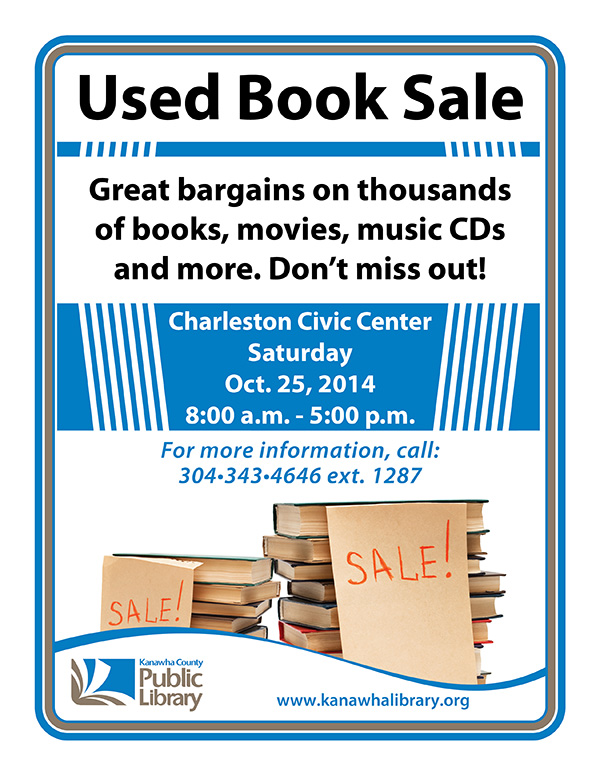 KCPL Used Book Sale Oct. 6